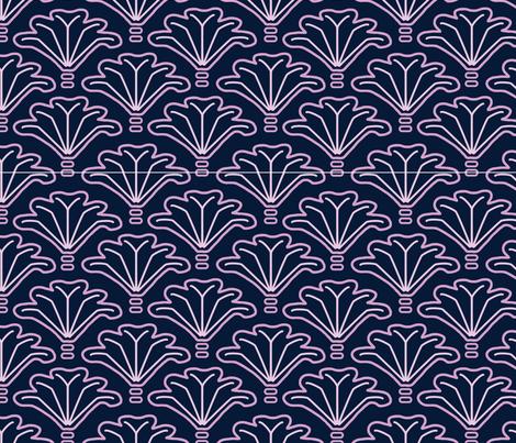 bunch-o-fans fabric by westworksstudio on Spoonflower - custom fabric