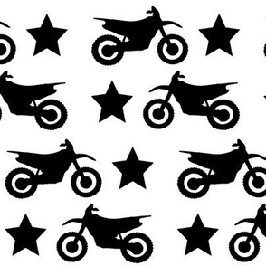 Dirt Bike and Star