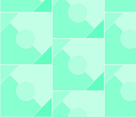 Mint Julep  fabric by krystalsavage on Spoonflower - custom fabric