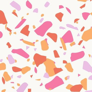 Terrazzo in Pink and Orange