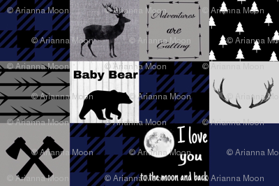 Baby bear - love you to the moon