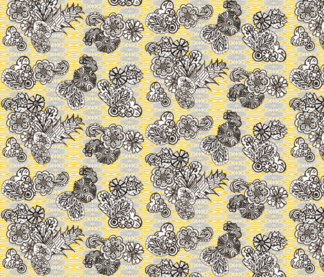 Here Comes the Sun fabric by modest on Spoonflower - custom fabric