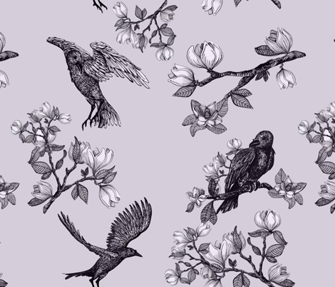 Andrea's Dream fabric by indigoartworks on Spoonflower - custom fabric
