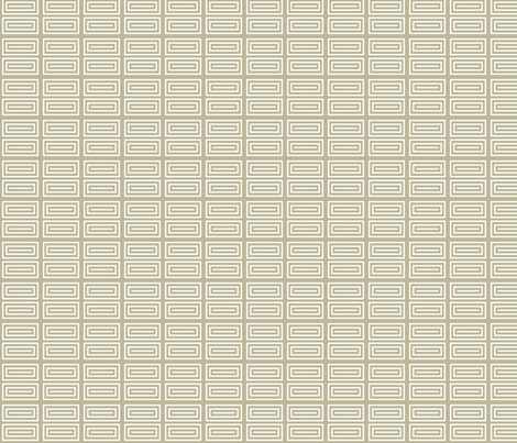 Deco white and beige rectangles fabric by maia_ming_designs on Spoonflower - custom fabric
