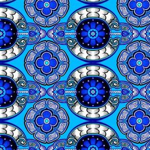 Scaled Medallion Tiles 1