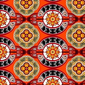 Scaled Medallion Tiles 2