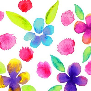 Watercolor Flowers 10