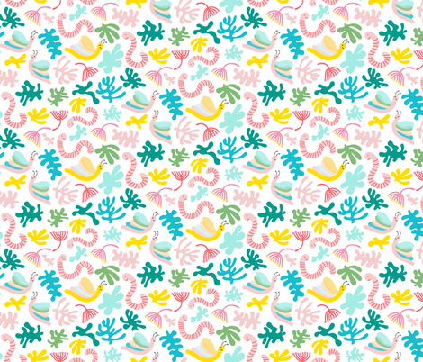 By the River fabric by lottalorier on Spoonflower - custom fabric