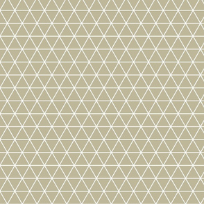 triangle pyramid pattern in beige