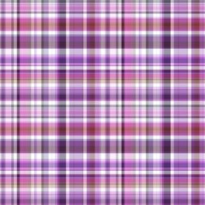 Pink Purple White Plaid