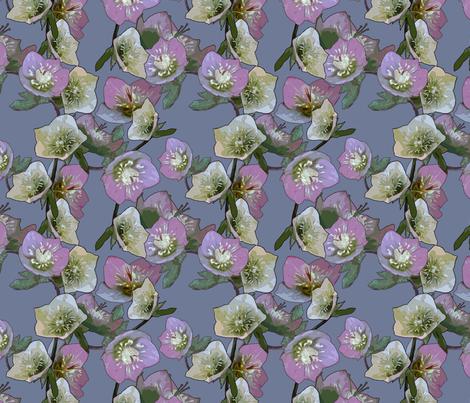 Flowers from my garden fabric by bruun_hansen on Spoonflower - custom fabric