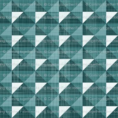 Geometric Monochrome Linen