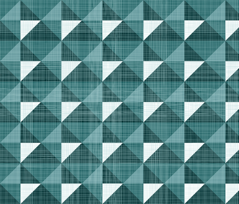 Geometric Monochrome Linen fabric by fabric_rocks on Spoonflower - custom fabric