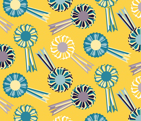 Rosette The Table fabric by seesawboomerang on Spoonflower - custom fabric