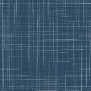 Sailor blue Crosshatch