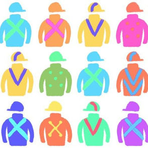 Colorful Jockey Silks