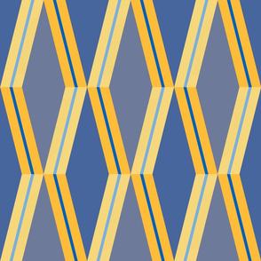 Folded Deco Sunray Stripe