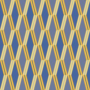 Folded Deco Sunray Stripe 12x12