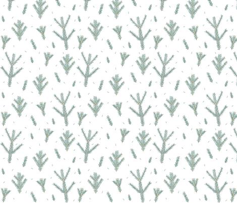 pine fabric by janaotto on Spoonflower - custom fabric