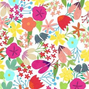 Dafina- Floral Pattern