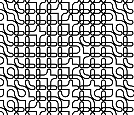 Set 01/0008 fabric by contrast on Spoonflower - custom fabric