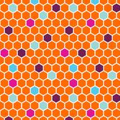 Gwen Hexie Orange Hexagon #4