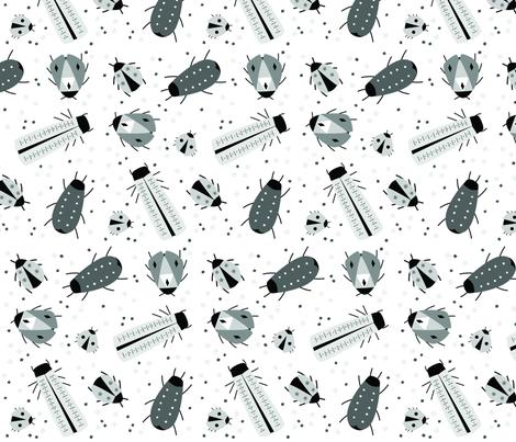 beetles fabric by carmenland on Spoonflower - custom fabric