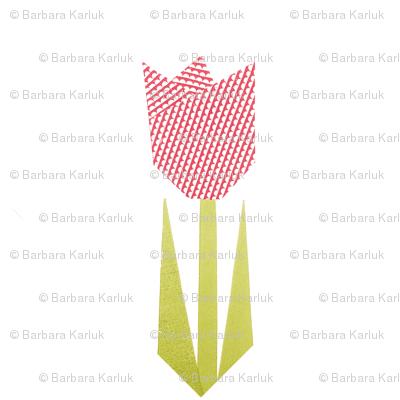 tulip quilt scandi