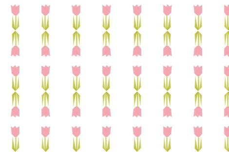 tulip quilt scandi fabric by bjdk on Spoonflower - custom fabric