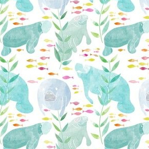 Lazy Manatees - Small Scale