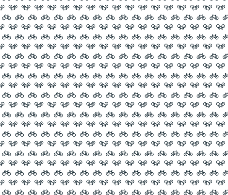 Bicycle Logo fabric by mayfair on Spoonflower - custom fabric