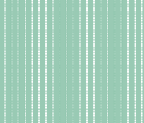 Polka Dot Stripes On Sage fabric by bags29 on Spoonflower - custom fabric