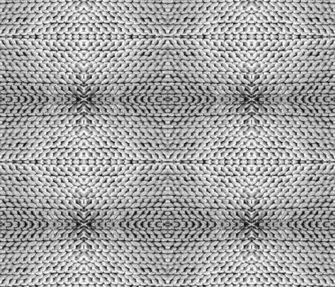Crochet in Grey fabric by liz_sandler on Spoonflower - custom fabric