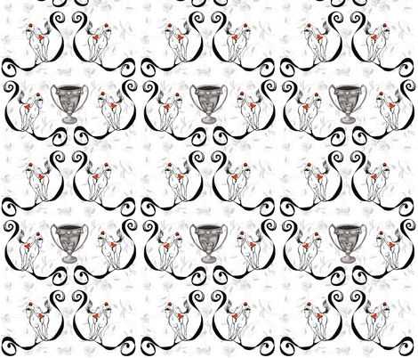 Off to The Horse Races  fabric by salzanos on Spoonflower - custom fabric