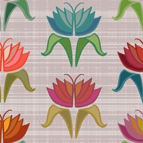 Art Deco Bright Floral