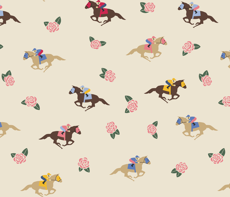 Kentucky Derby fabric by diseminger on Spoonflower - custom fabric