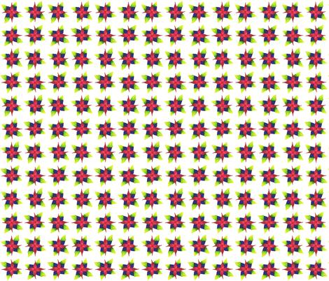 Colored Pencil Flower fabric by alexandramagnus on Spoonflower - custom fabric