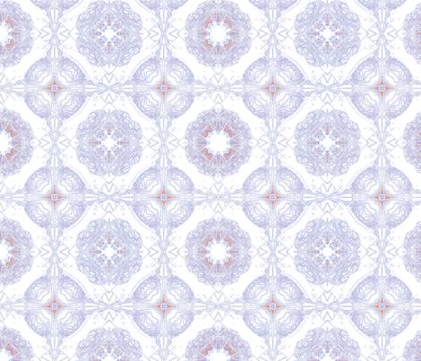 China blue spring fabric by twigsandblossoms on Spoonflower - custom fabric