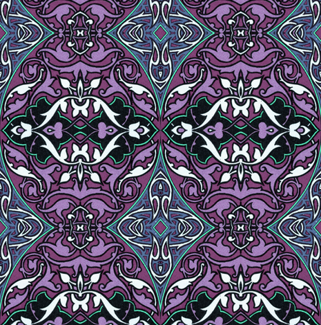 arabesque 111 fabric by hypersphere on Spoonflower - custom fabric