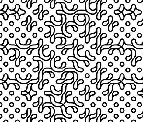 Set 01/0024 fabric by contrast on Spoonflower - custom fabric