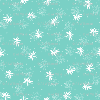 Seaweed - Seagreen Background