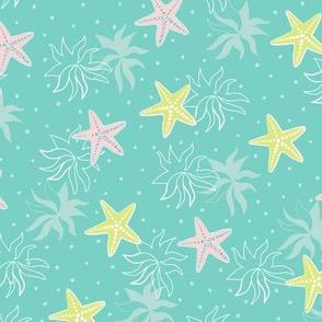 Starfish - Green Sea