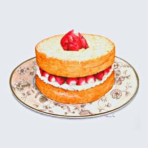 Strawberry Shortcake Large 21 Inches