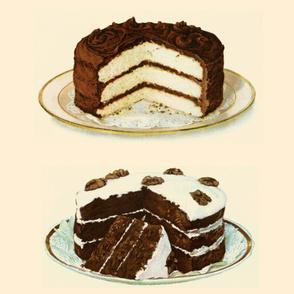 Double Chocolate Cake Large