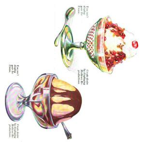 Ice Cream Sundaes Selvage Large