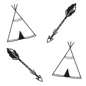 Arrows & Tipi's