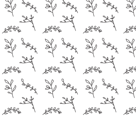 Botanical fabric by ireneflorentina on Spoonflower - custom fabric