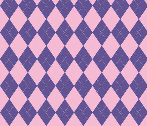 Off to Races Jockey Jersey Violet & Pink fabric by fleur_de_la_mer_designs on Spoonflower - custom fabric