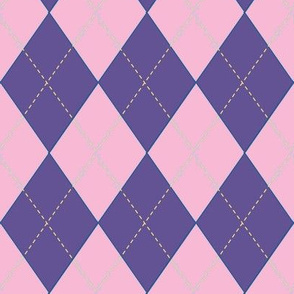 Off to Races Jockey Jersey Violet & Pink
