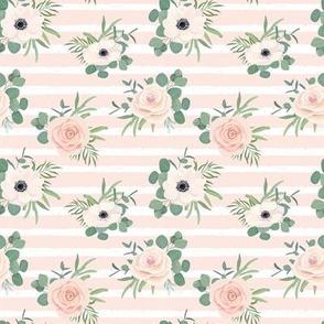 """4"""" Flower Voyage // Peach Stripes"""